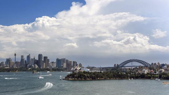 VideoHive Sydney CBD and Harbour Bridge 11206089