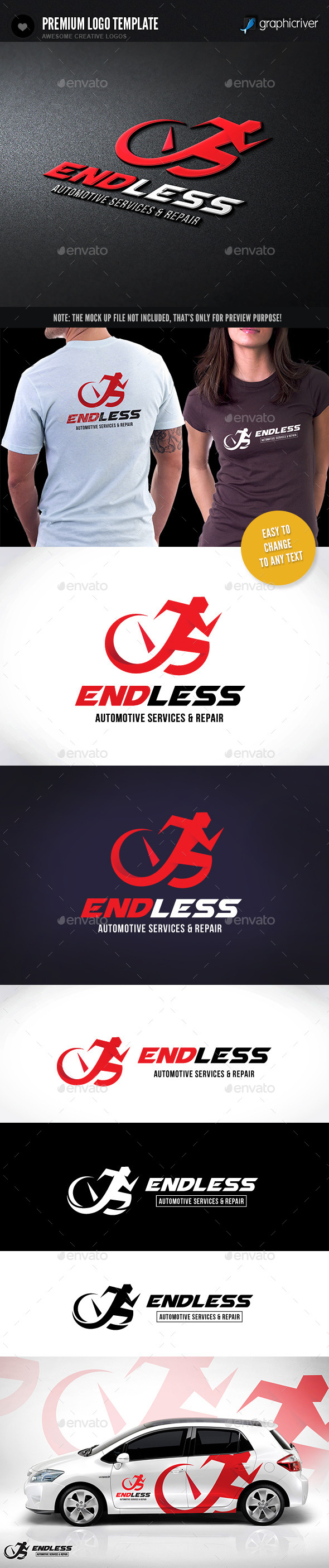 GraphicRiver Endless Infinity Automotive 11206175