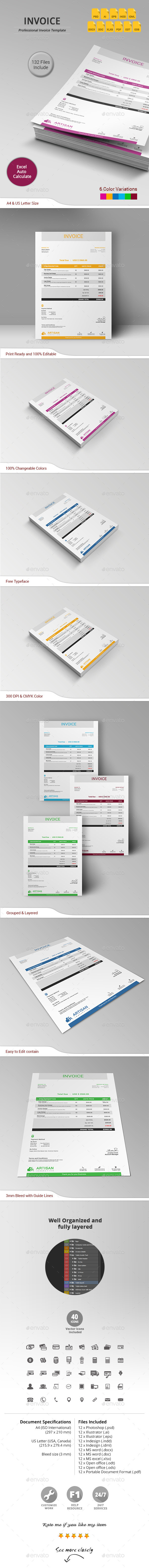 GraphicRiver Invoice 11206215