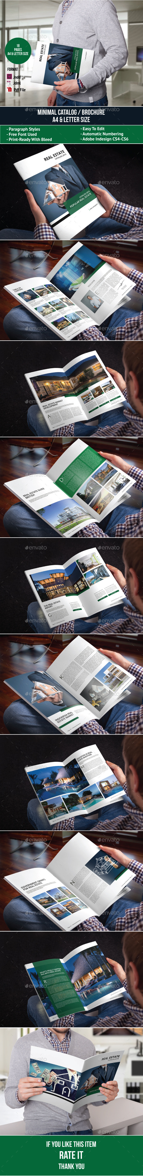 GraphicRiver Real Estate Brochure Template 11206243
