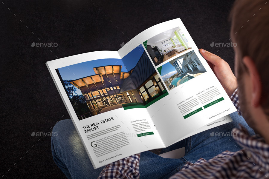 Real Estate Brochure Template by alhaytar – Real Estate Brochure Template
