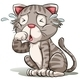 A Crying Cat - GraphicRiver Item for Sale