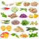 set of vegetable isolated on white background - PhotoDune Item for Sale