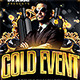 Gold Event Flyer Template - GraphicRiver Item for Sale