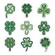 Celtic Clovers - GraphicRiver Item for Sale