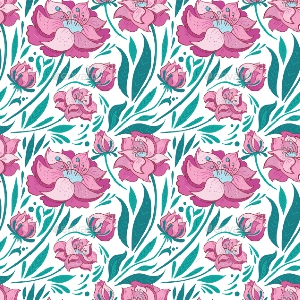 GraphicRiver Floral Pattern 11206866