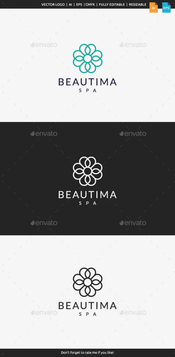 GraphicRiver Beautima Spa Logo 11207111