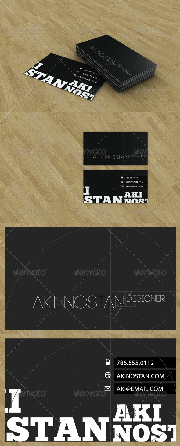 Business Card Presentation - 3DOcean Item for Sale