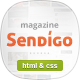 Sendigo - Clean Magazine HTML Template - ThemeForest Item for Sale