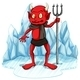 Freezing Devil with a Fork
