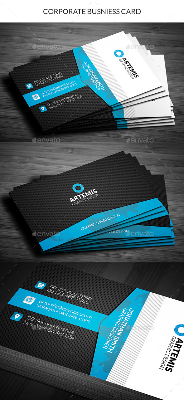 GraphicRiver Corporate Business Card 11207928