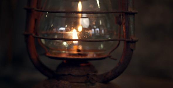 Old Lantern Lamp
