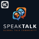 Speak Talk Logo - GraphicRiver Item for Sale