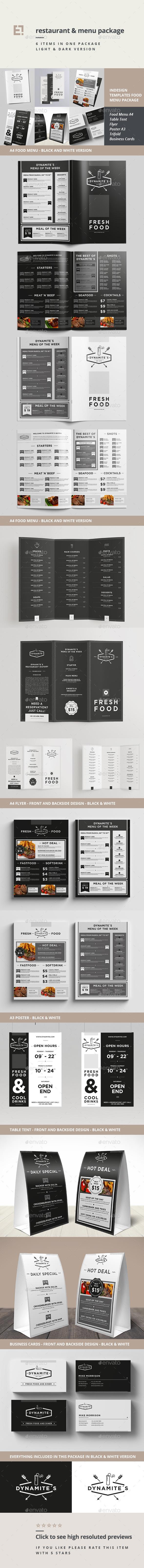 GraphicRiver Food Menu Bundle 11208131