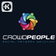 Crowd People Logo - GraphicRiver Item for Sale