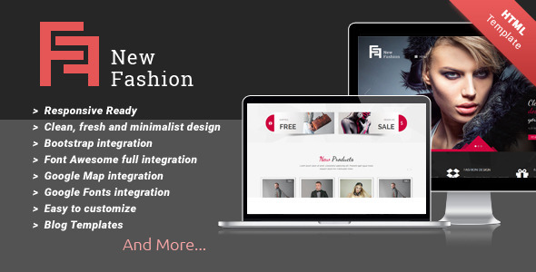 ThemeForest New Fashion Multi-purpose HTML5 Templates 11208181