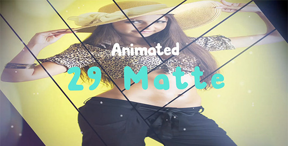 VideoHive 29 Animeted Matte Pack 1 11208268