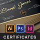 A Great Deal! / Modern Certificates v.3 - GraphicRiver Item for Sale