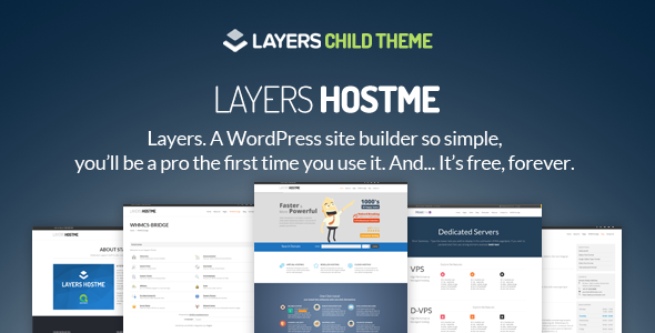 Hostme - LayersWP Multipurpose Child Theme