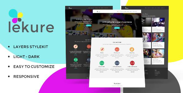 CodeCanyon Lekure Layers Style Kit 11209025