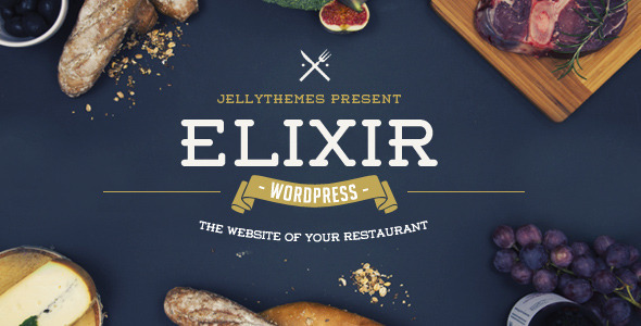 ThemeForest Elixir Restaurant WordPress Theme 11209083