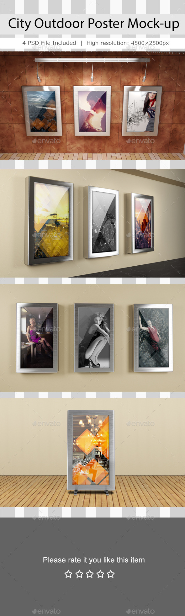 GraphicRiver City Outdoor Poster Mockup 11209600