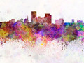 Lexington skyline in watercolor background - PhotoDune Item for Sale