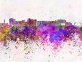 Duluth skyline in watercolor background - PhotoDune Item for Sale