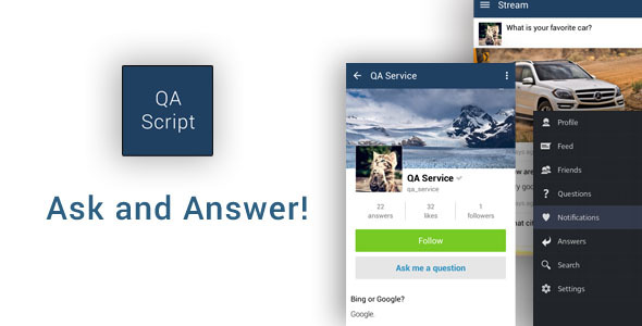 CodeCanyon Ask and Answer App 10907755
