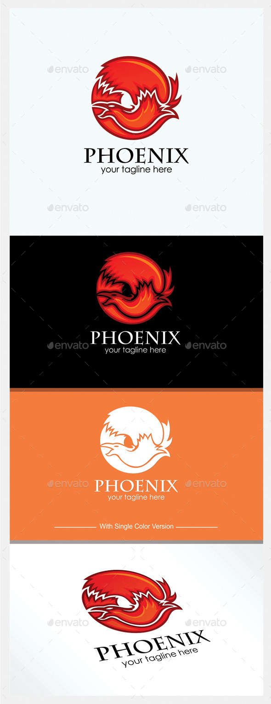 GraphicRiver Phoenix Logo 11210328