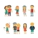 Group of People on the Street - GraphicRiver Item for Sale