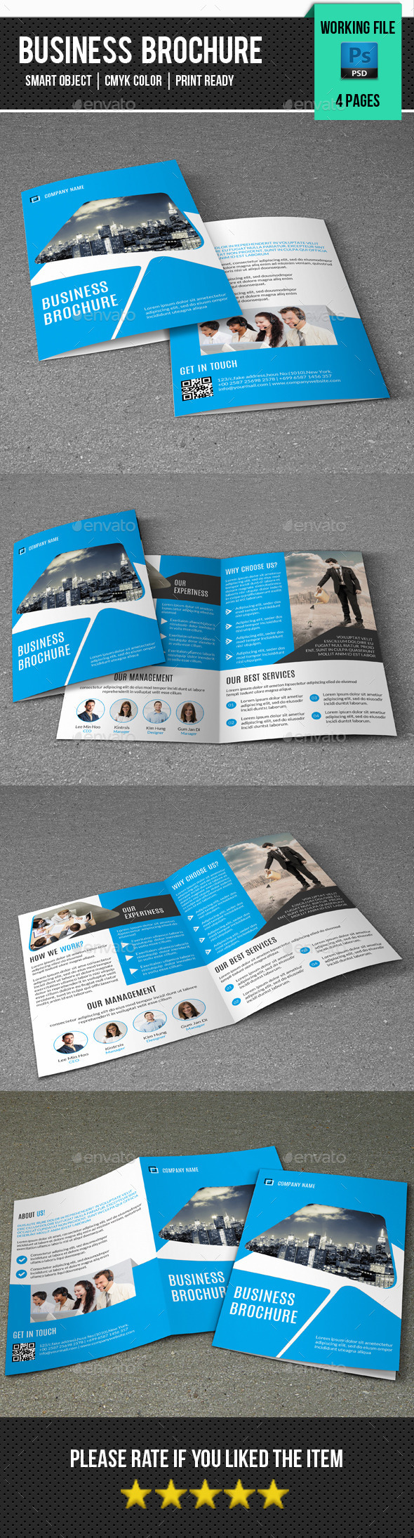 GraphicRiver Corporate Bifold Brochure-V239 11210472