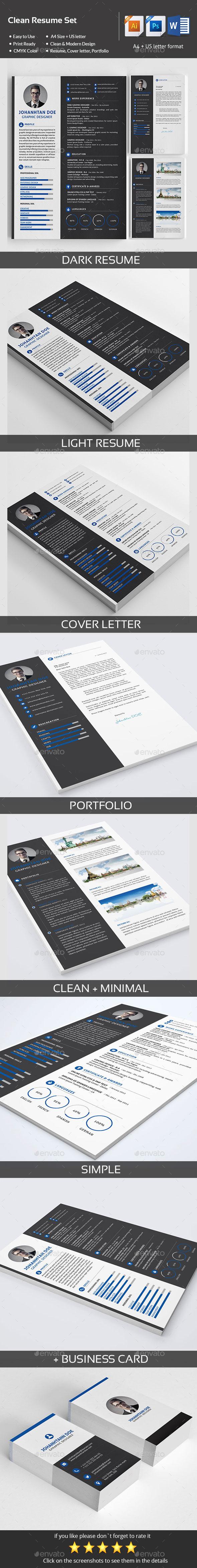 GraphicRiver Resume 11210560