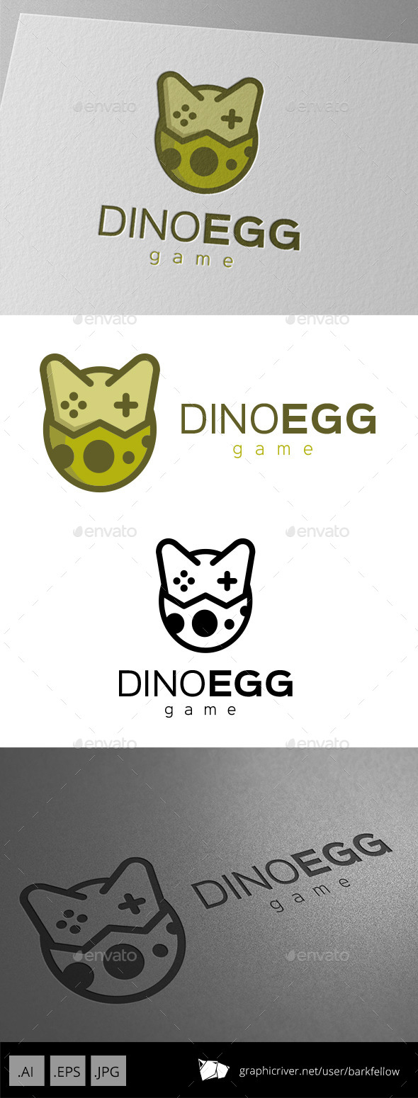 GraphicRiver Dinosaurs Egg Logo Design 11210732