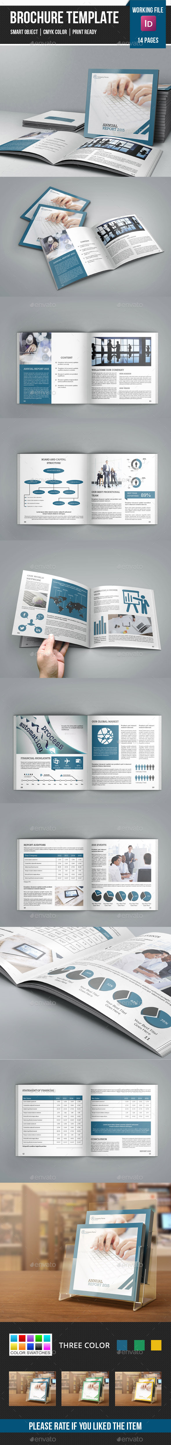 GraphicRiver Square Annual Report Brochure-V240 11210744