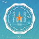 Sea & Summer Food Menu - GraphicRiver Item for Sale
