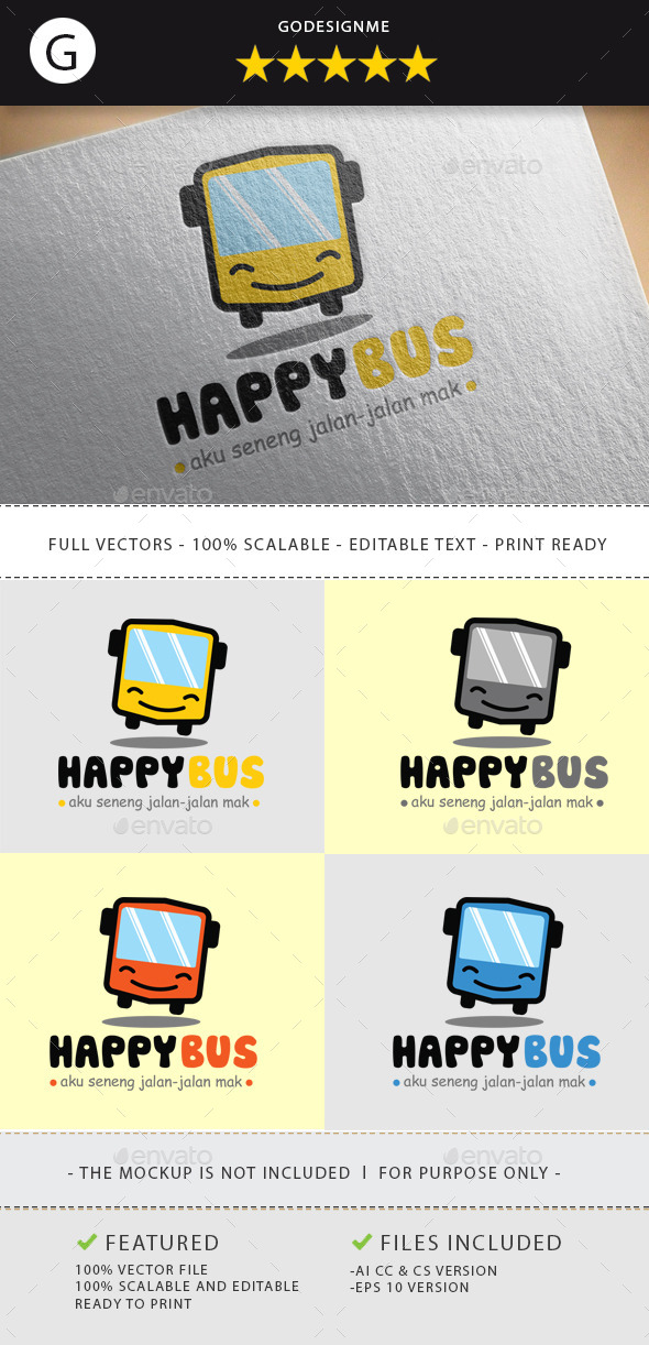 GraphicRiver Happy Bus 11211167