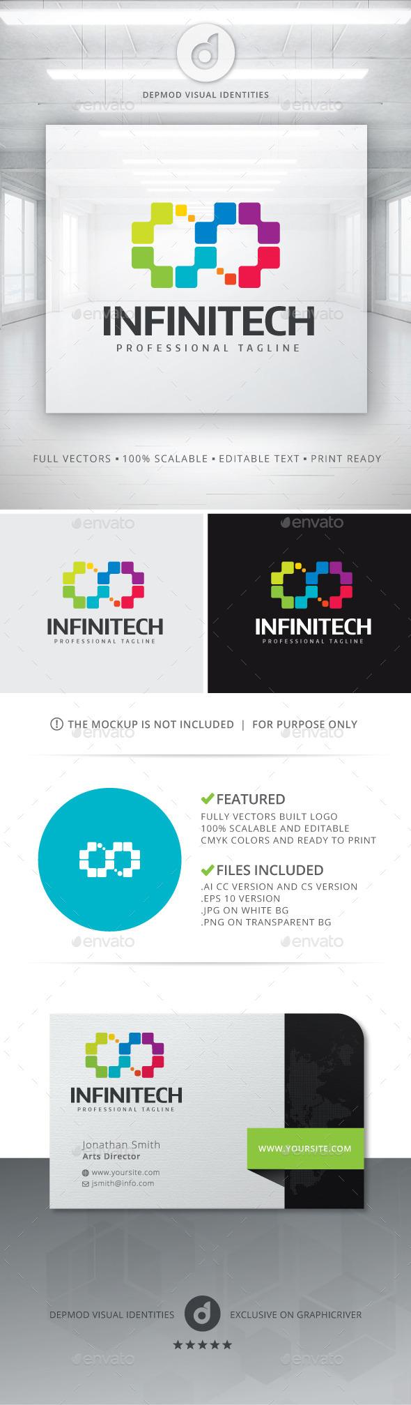 GraphicRiver Infinitech Logo 11211279