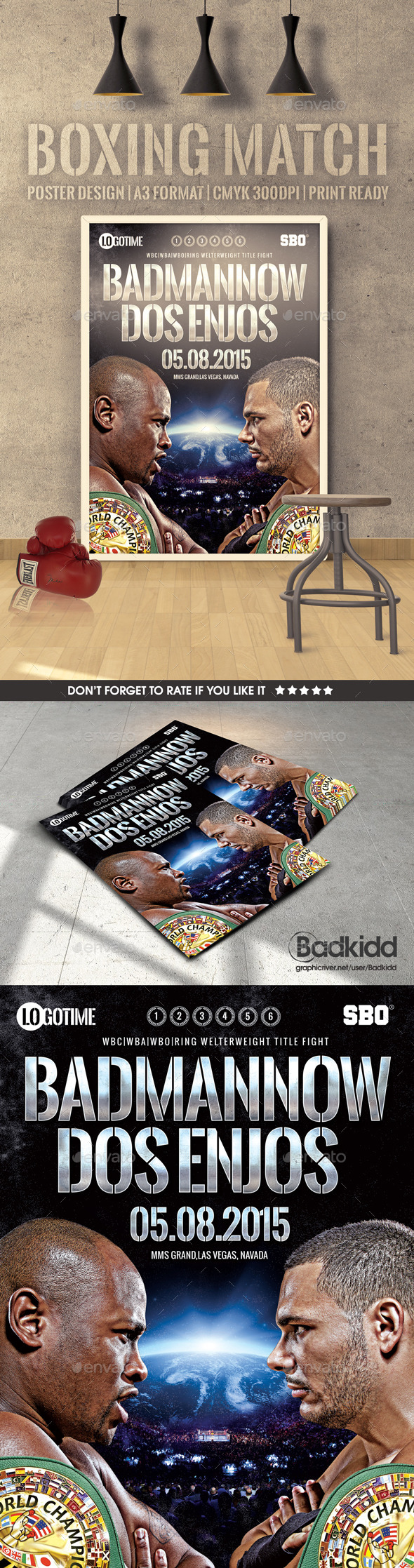 GraphicRiver Boxing Match Poster 11211282