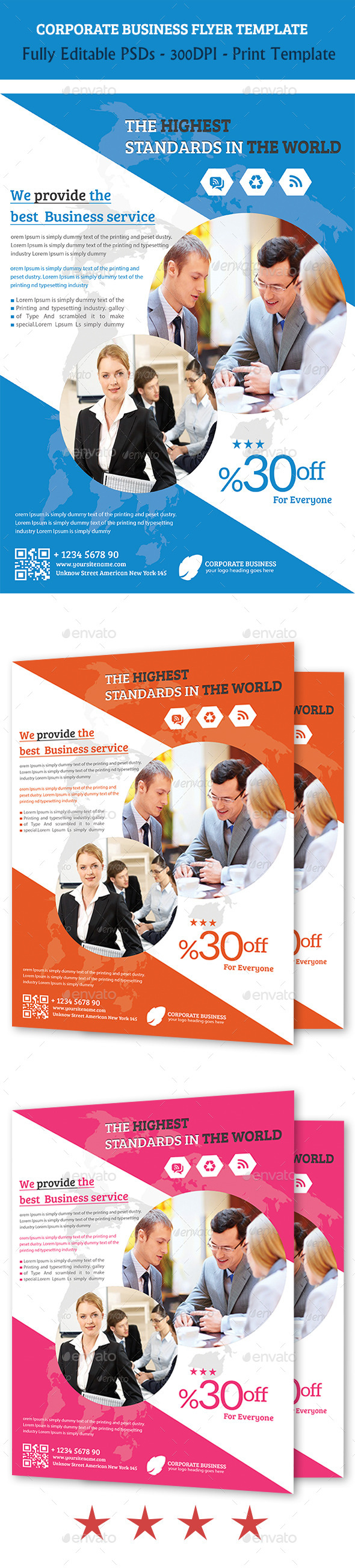GraphicRiver Corporate Business Flyer 5639789