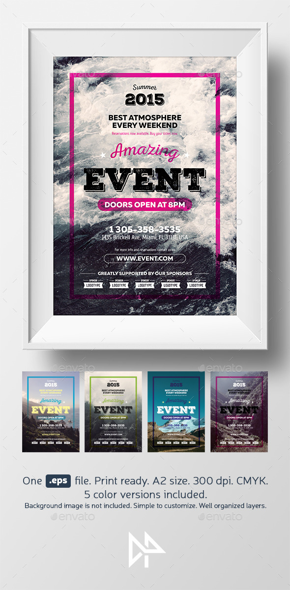 GraphicRiver Event Poster Template 11211491