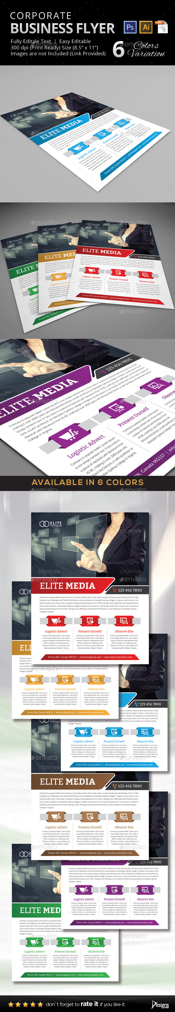 GraphicRiver Multipurpose Business Flyer 43 11211497