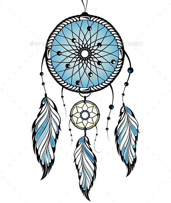 GraphicRiver Indian Dream Catcher 11211505