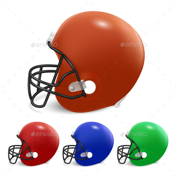 GraphicRiver American Football Helmets 11211506