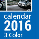 2016 Wall Calendar Template - GraphicRiver Item for Sale