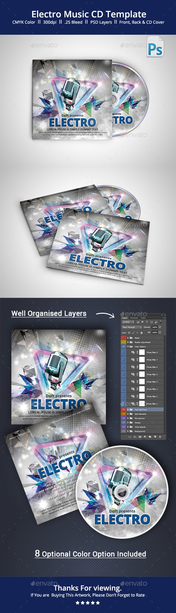 GraphicRiver Music CD Cover 11157403