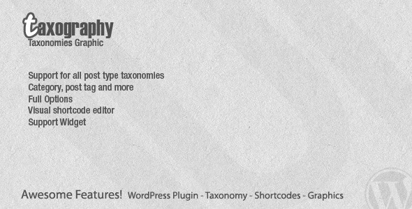 CodeCanyon Taxography Premium Graphical Taxonomies 1124074