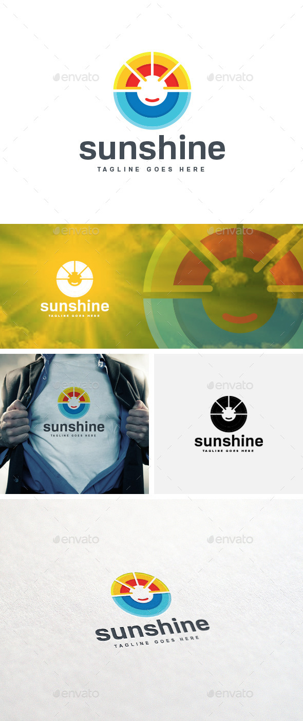 GraphicRiver Sun Shine Logo Template 11211968