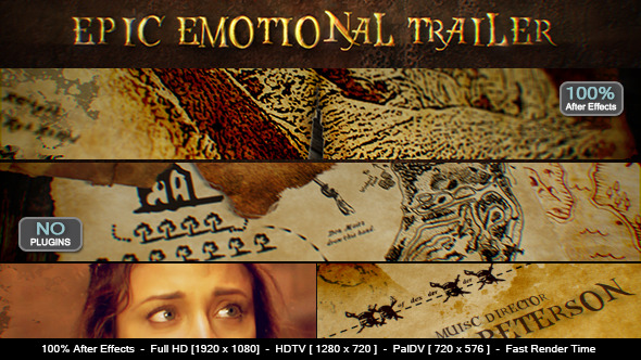 Epic Emotional Trailer (Video Displays)