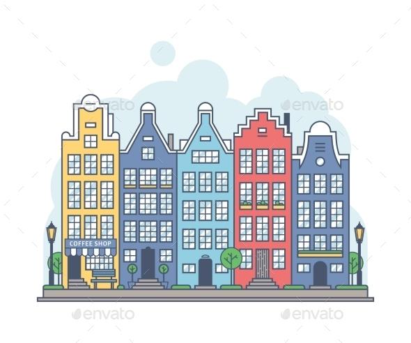GraphicRiver Amsterdam Cityscape 11212006